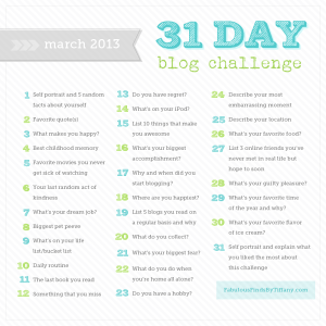 31-day-blog-challenge-march-2013-1